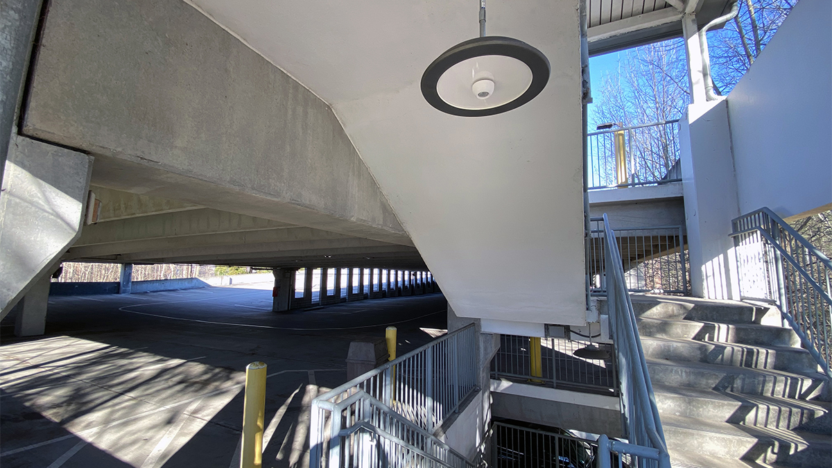McGraw-Edison parking garage staircase applications