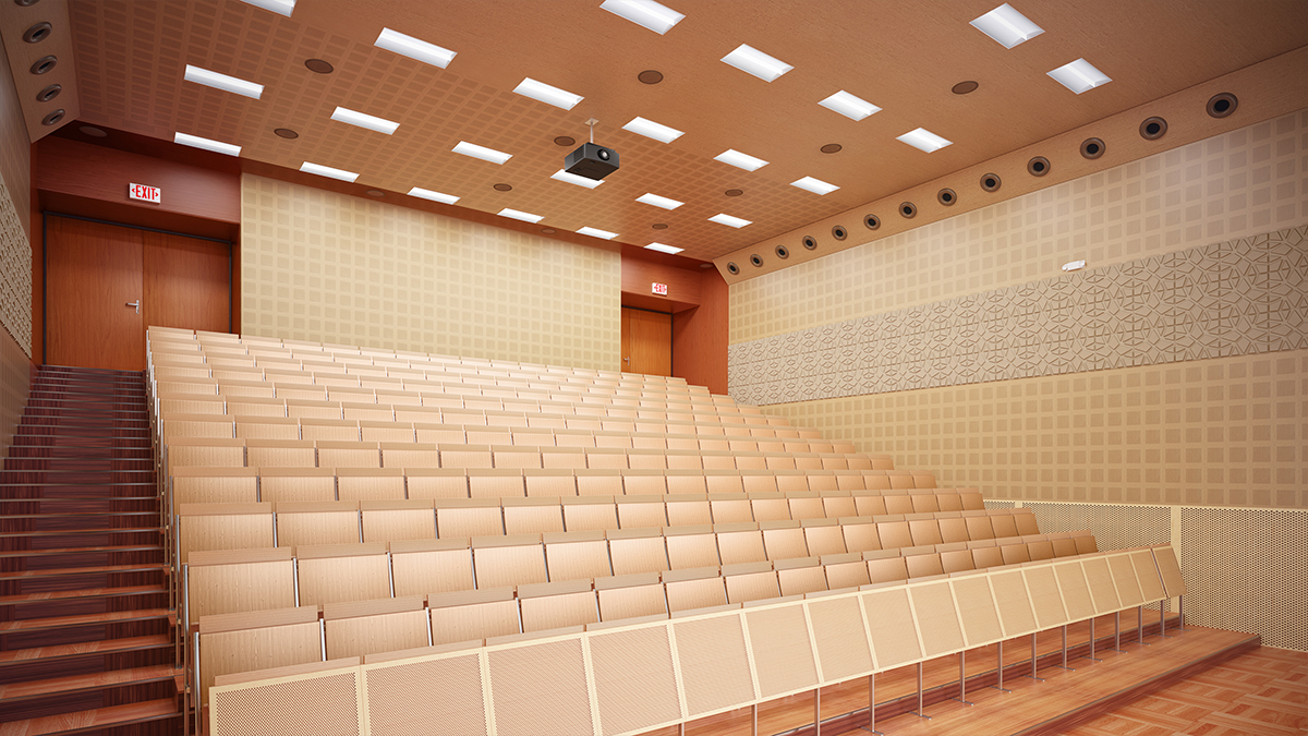 Exit and Emergency auditorium applications